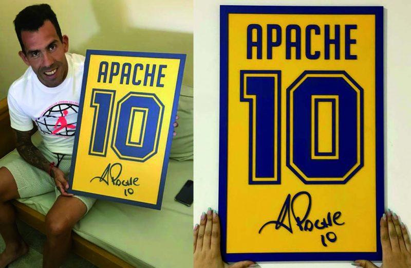 Cuadro Dorsal del Apache