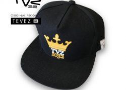 Gorra TVZ 32 Negra Estampada Relieve 1032