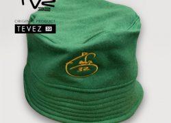 Gorra Piluso Verde Firma Bordada